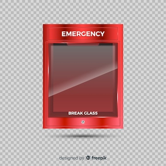 Empty emergency box