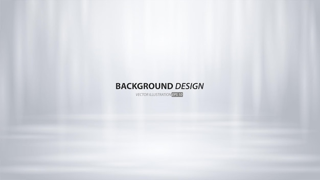 Empty gray studio room and light backgound. product display with copy space for display of content design.banner for advertise product on website.