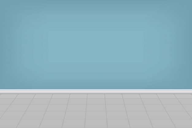 Empty laundry room background illustration