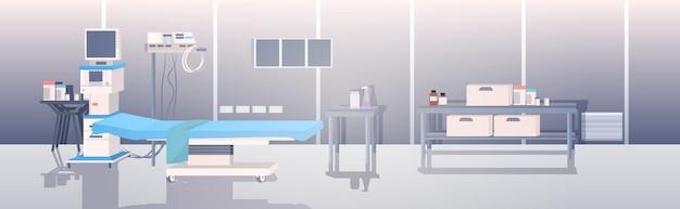 Empty modern clinic
