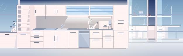 Empty modern lab
