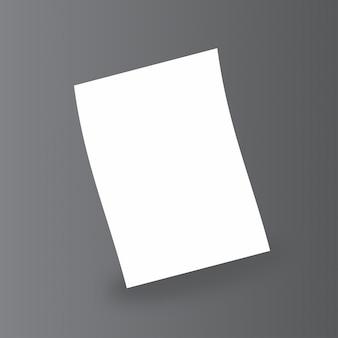Empty paper