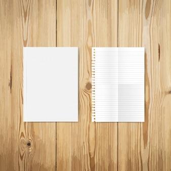 Дизайн пустые бумаги