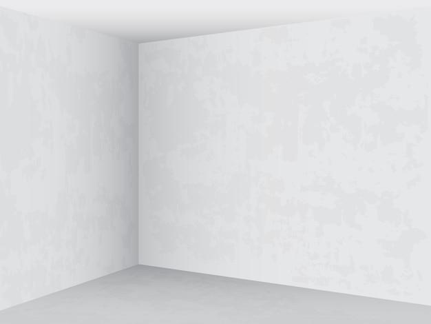 Empty room bright interior.