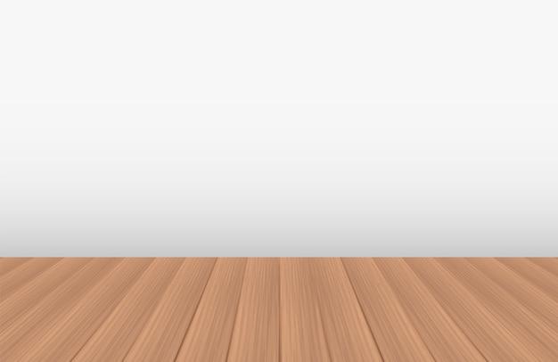 Пустая комната с настоящим деревянным полом