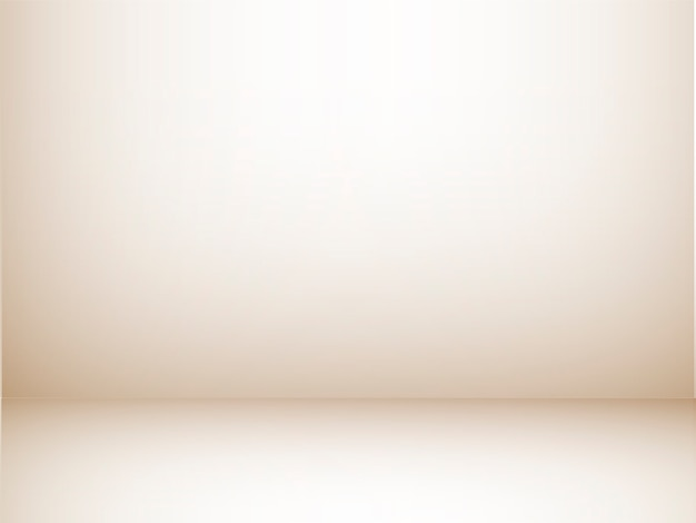 Empty studio room with light brown wall