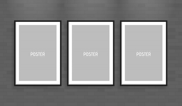 Empty white a4 sized vector paper frame mockup. show your flyers, brochures, headlines etc with this highly detailed realistic design template element
