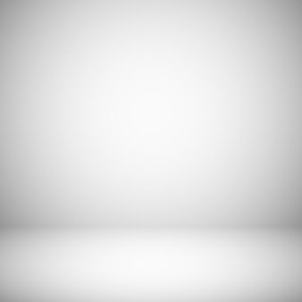 Empty white and gray light background