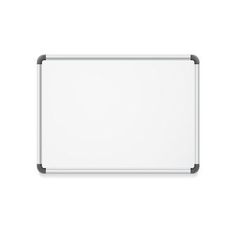 ビジネスプレゼンテーション用の空のホワイトボード