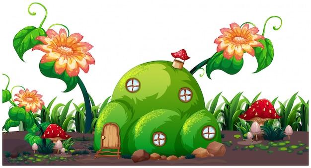 An enchanted magic house