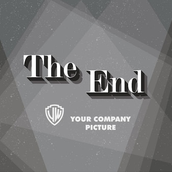End credits фона
