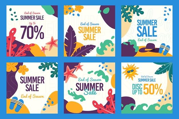 Конец сезона летних распродаж в instagram
