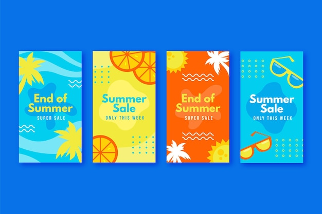 Конец сезона летняя распродажа