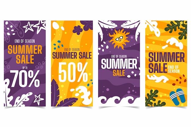 Конец сезона летних распродаж instagram рассказы