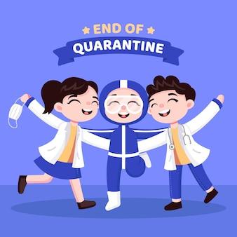 Fine del concetto di quarantena