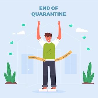 End of quarantine