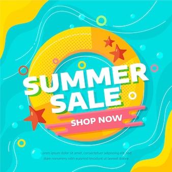 End of season summer sale