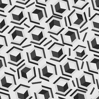 Бесконечные геометрические шестиугольник узор фона.