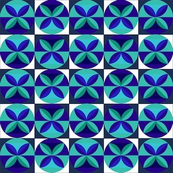 Бесконечная геометрия священный цветочный узор фона.
