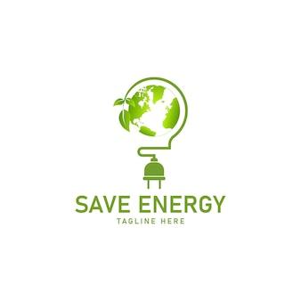 Концепция энергосбережения векторные иллюстрации