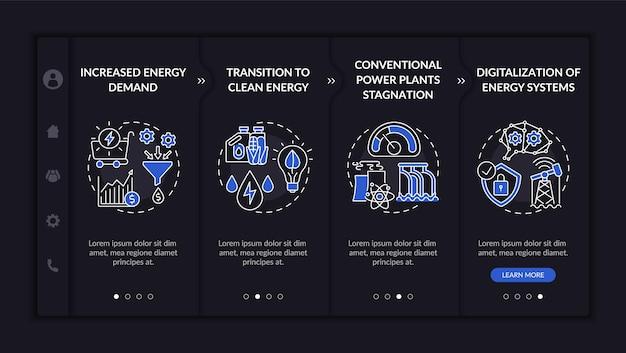 Шаблон для ознакомления с направлениями энергетической инженерии