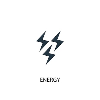 Energy icon. simple element illustration. energy concept symbol design. can be used for web and mobile.