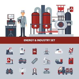 Energy and industry set