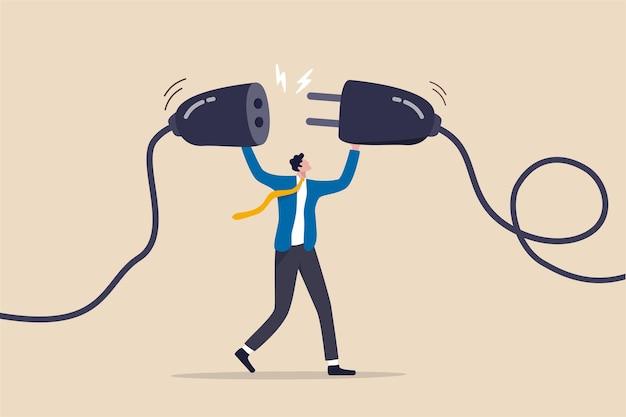 Подзарядка энергии или концепция подключения людей.
