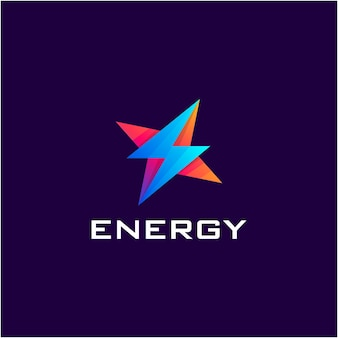 Energy with gradient color