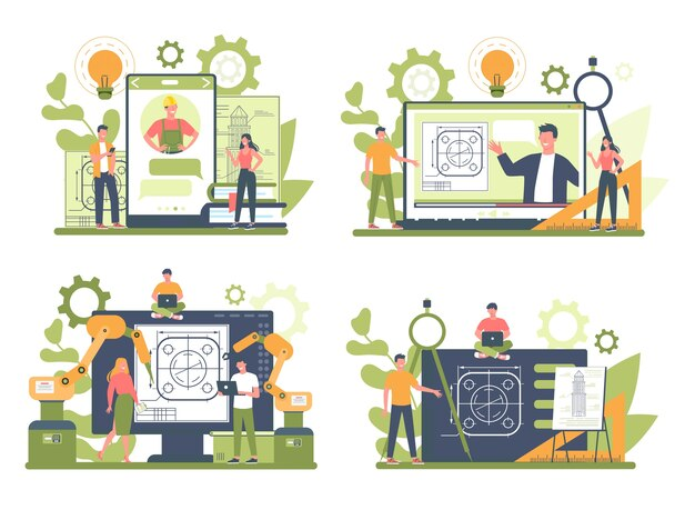 異なるデバイスコンセプトセットでのオンラインサービスまたはプラットフォームのエンジニアリング