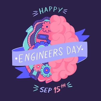 Engineers day concept