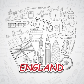 England elements collection