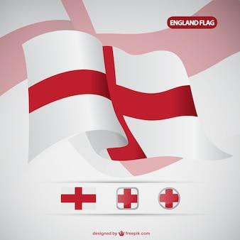 Вектор флаг англии