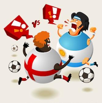 England VS Argentina always hot