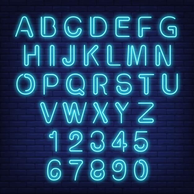 neon text font - Monza berglauf-verband com