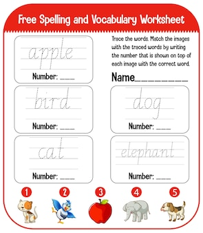 English alphabet tracing worksheets