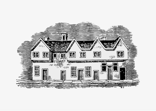Английский старый дом