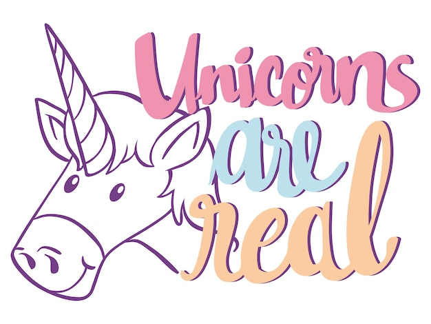 English phrase for unicorn are real