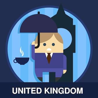 Иллюстрация англичанина