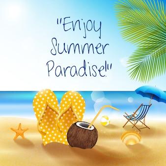 Enjoy beach summer