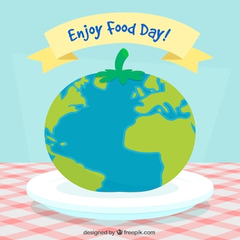 Enjoy food background
