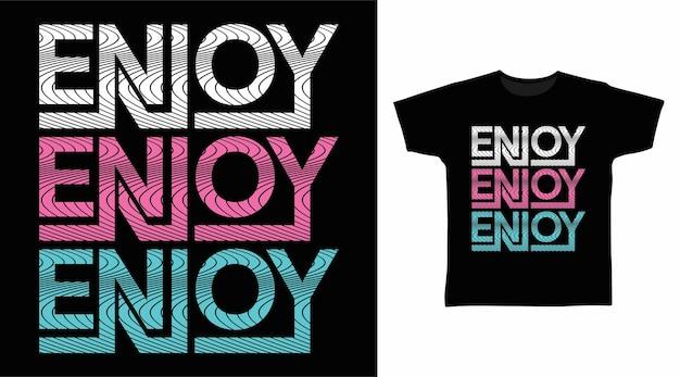 Enjoy typography design