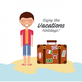 Enjoy the vacations holidays