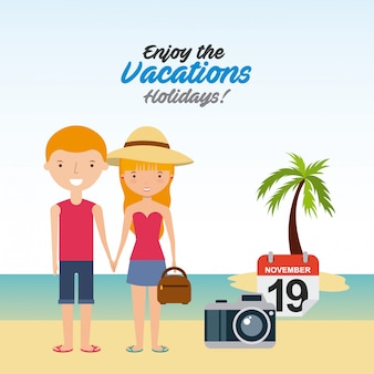Enjoy the vacations holidays