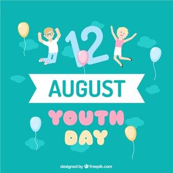 Приятные фон дня молодежи