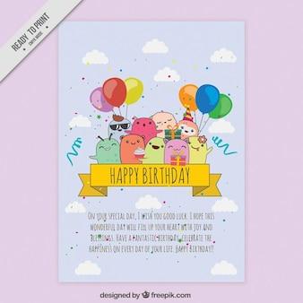 Enjoyable birthday card