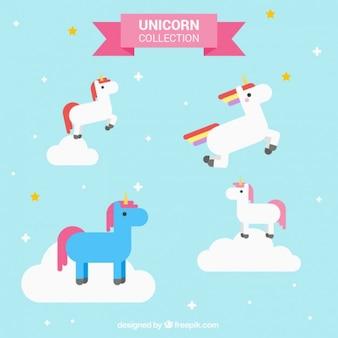 Enjoyable unicorn in colors