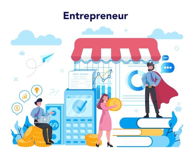 Концепция предпринимателя