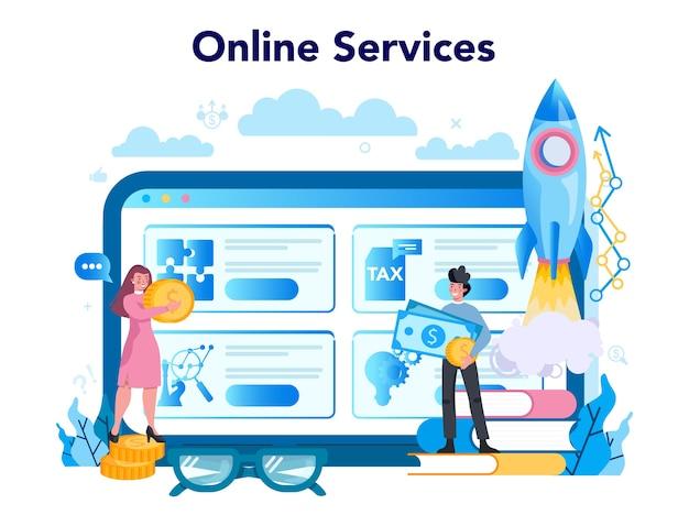 Enterpreneur online service or platform