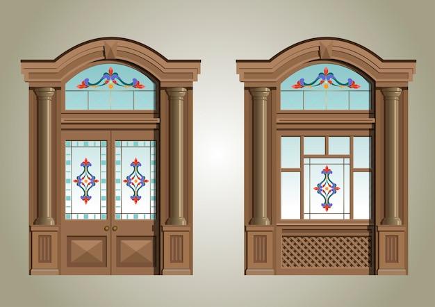 The entrance portal.